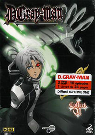 D.GRAY-MAN - VOL 1 - DVD