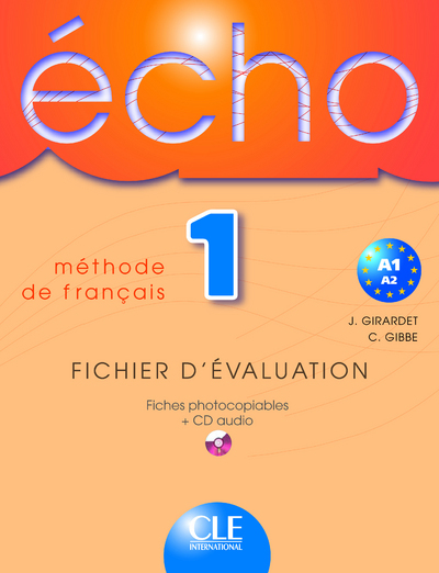 ECHO FICHIER + CD AUDIO N1