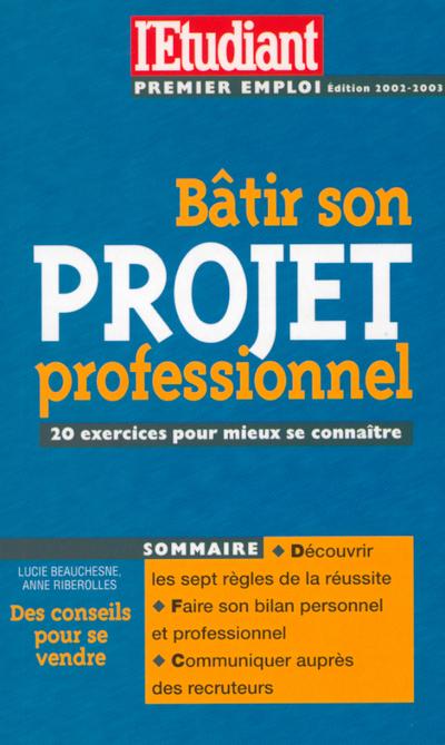 BATIR SON PROJET PROFESSIONNEL