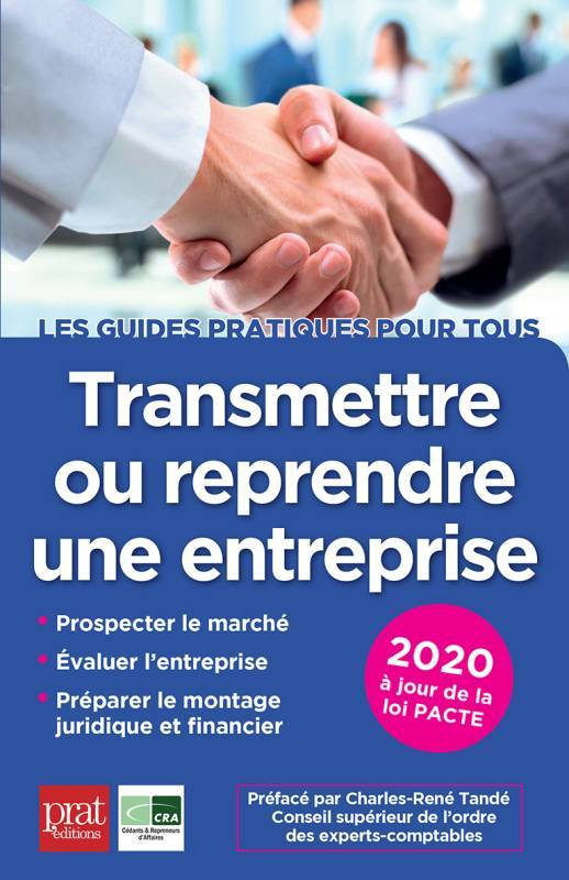 TRANSMETTRE OU REPRENDRE UNE ENTREPRISE 2020