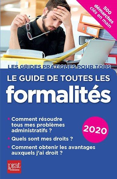 LE GUIDE DE TOUTES LES FORMALITES 2020