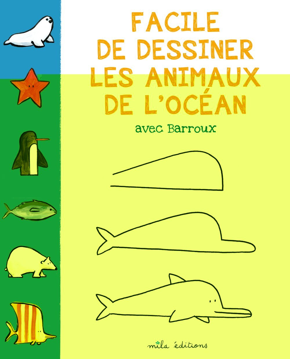 FACILE DE DESSINER LES ANIMAUX DE L'OCEAN