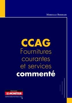 CCAG FOURNITURES COURANTES ET SERVICES COMMENTE
