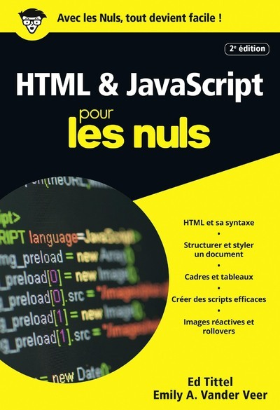 HTML & JAVASCRIPT 2E ED POCHE POUR LES NULS