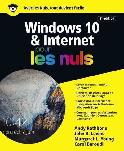 WINDOWS 10 ET INTERNET 4E POUR LES NULS