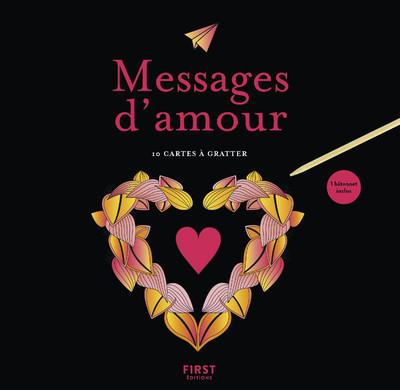 CARTES A GRATTER - MESSAGES D'AMOUR