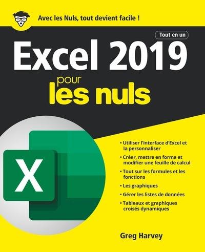 EXCEL 2019 TOUT EN UN POUR LES NULS