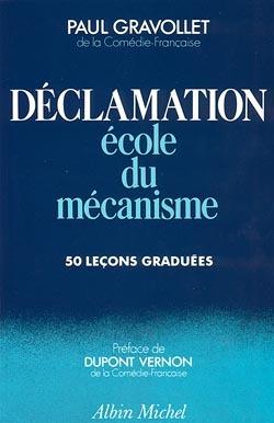DECLAMATION - ECOLE DU MECANISME