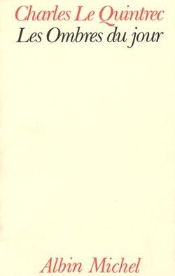 LES OMBRES DU JOUR - JOURNAL 1970-1980