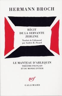RECIT DE LA SERVANTE ZERLINE