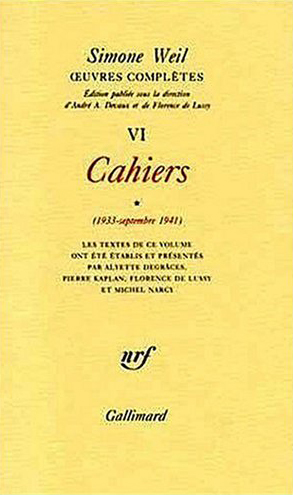 CAHIERS - CAHIERS (1933 - SEPTEMBRE 1941)