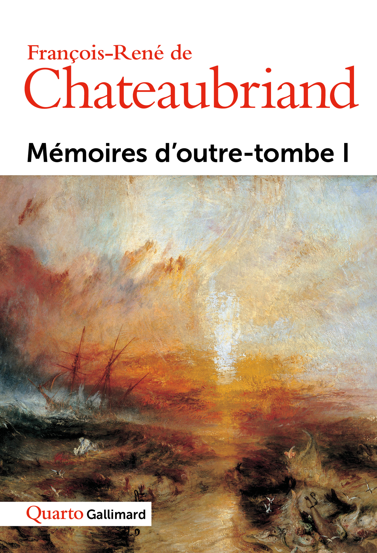 MEMOIRES D'OUTRE-TOMBE (TOME 1)