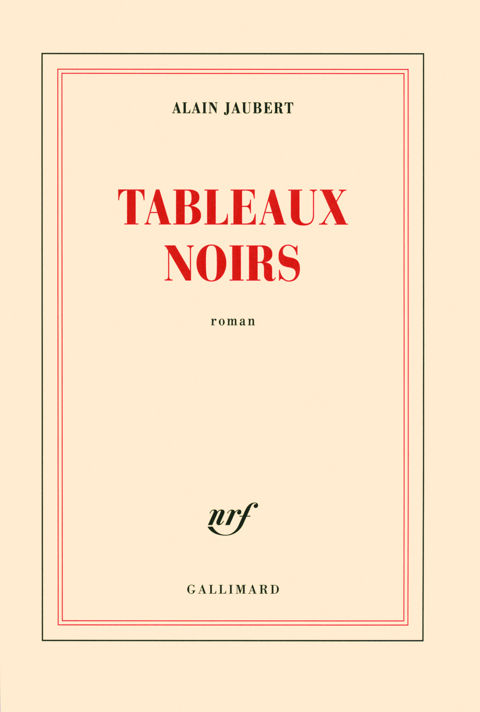 TABLEAUX NOIRS