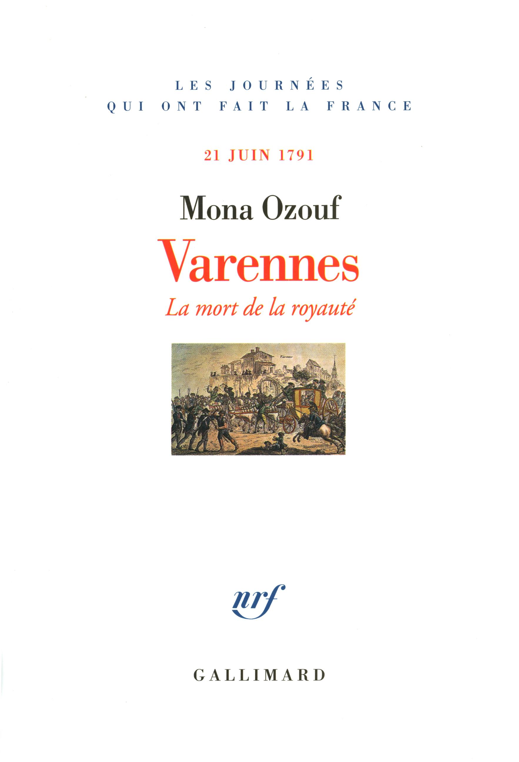 VARENNES 21 JUIN 1791