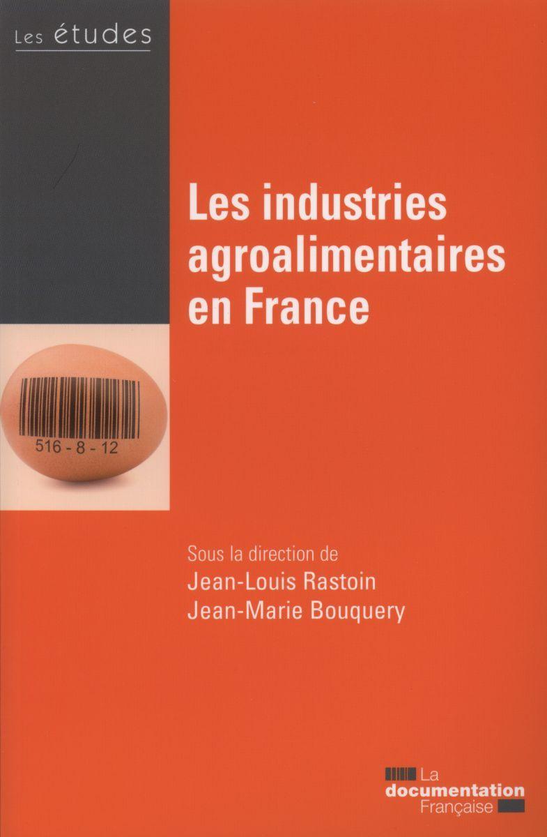INDUSTRIES AGROALIMENTAIRES EN FRANCE - ETUDES DE LA DF N5408-09 (LES)