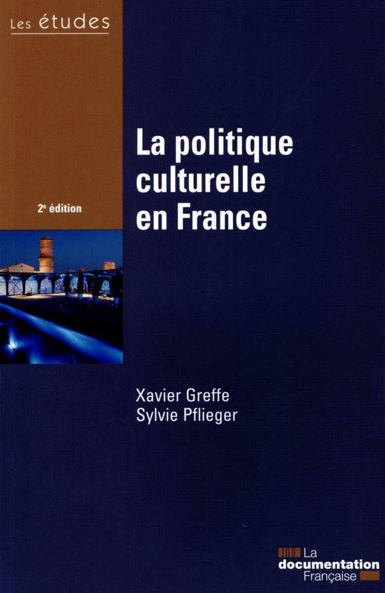 POLITIQUE CULTURELLE EN FRANCE - ETUDES DE LA DF N 5405-06-07 (LA)