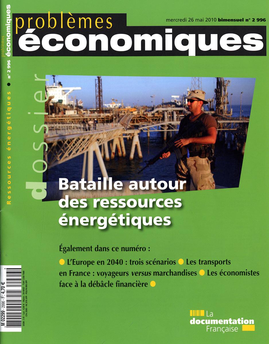 BATAILLE AUTOUR DES RESSOURCES ENERGETIQUES N 2996