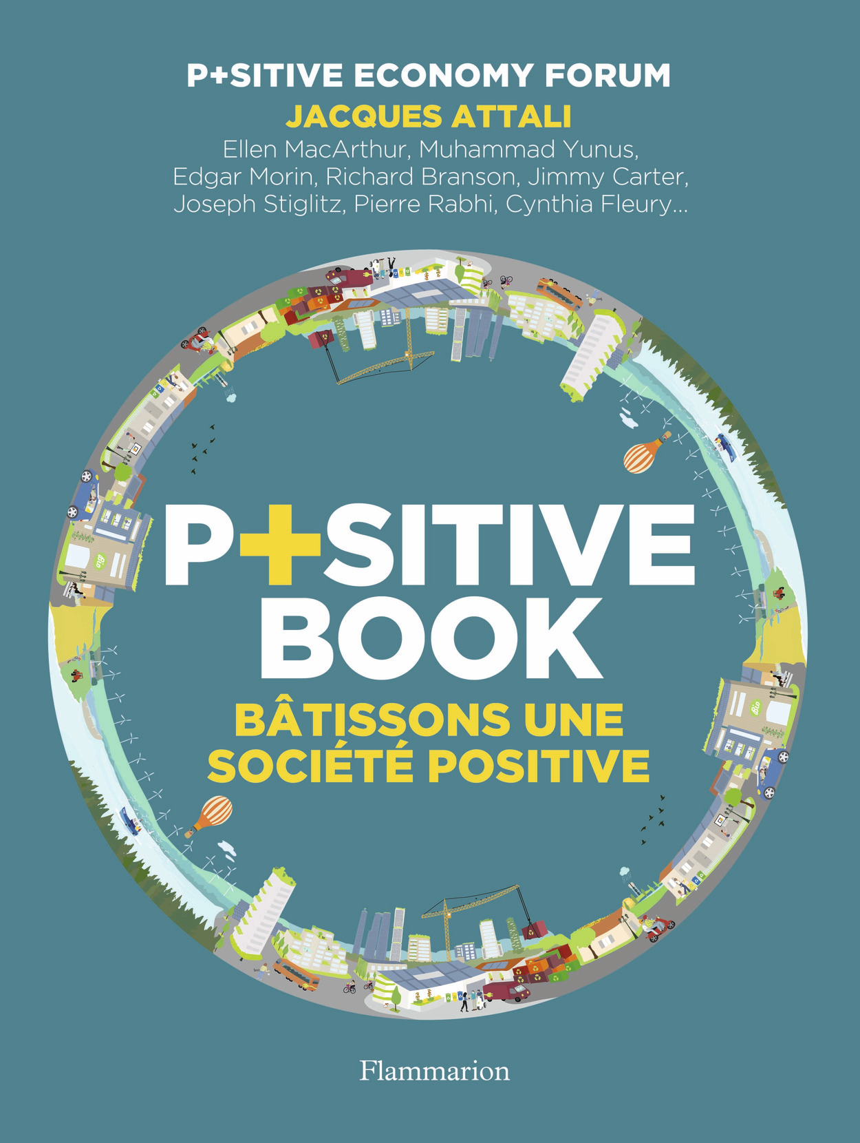 P+SITIVE BOOK - BATISSONS UNE SOCIETE POSITIVE