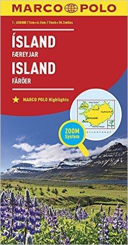 ISLANDE 1 : 650 000