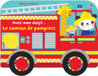 AVEC MON DOIGT... LE CAMION DE POMPIERS