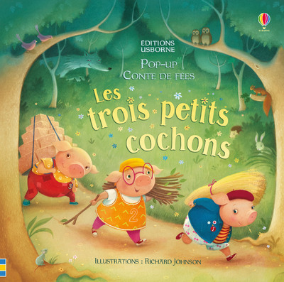 LES TROIS PETITS COCHONS - POP-UP CONTE DE FEES