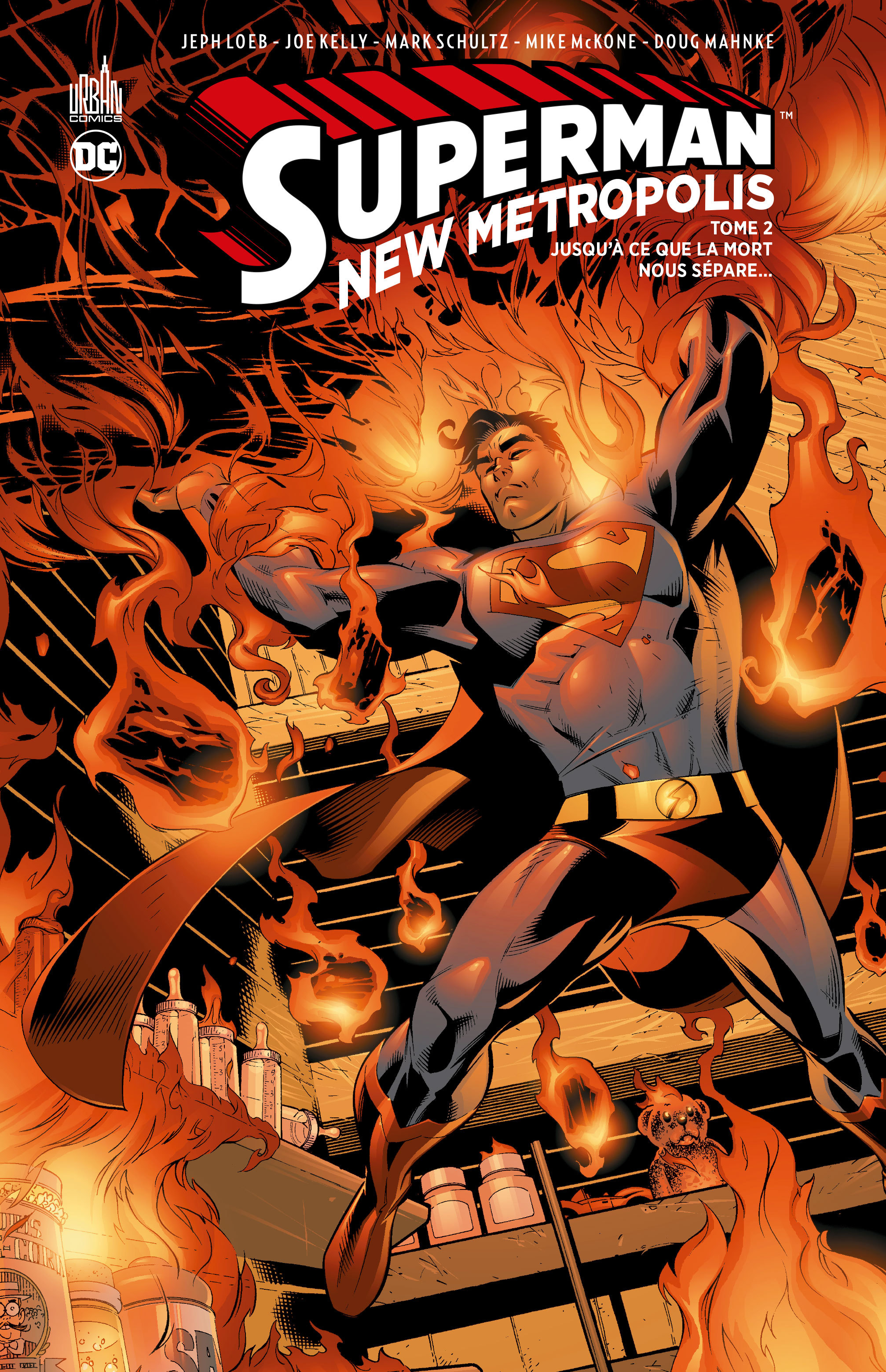 DC CLASSIQUES - SUPERMAN - NEW METROPOLIS TOME 2