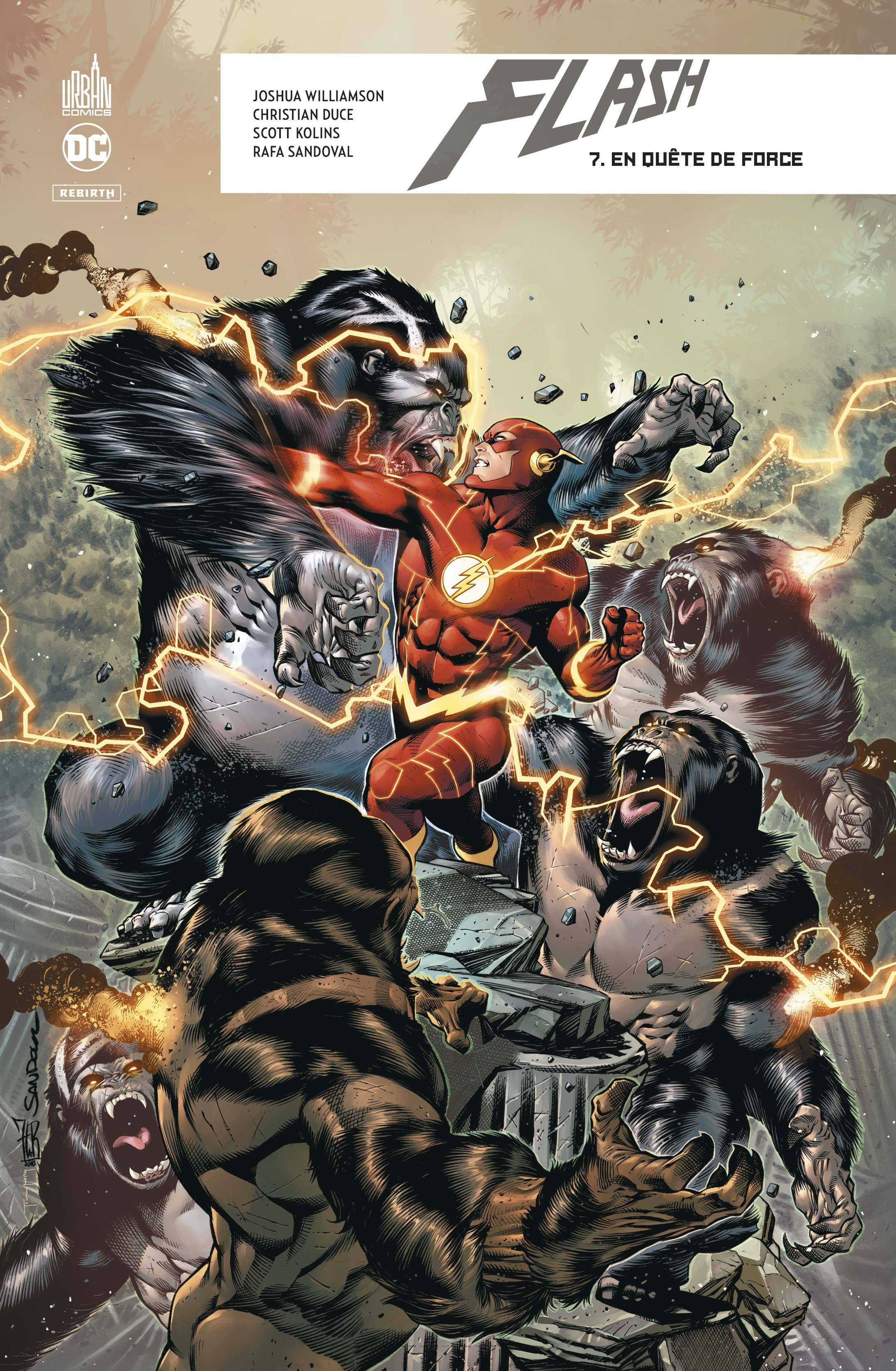 DC REBIRTH - FLASH REBIRTH TOME 7