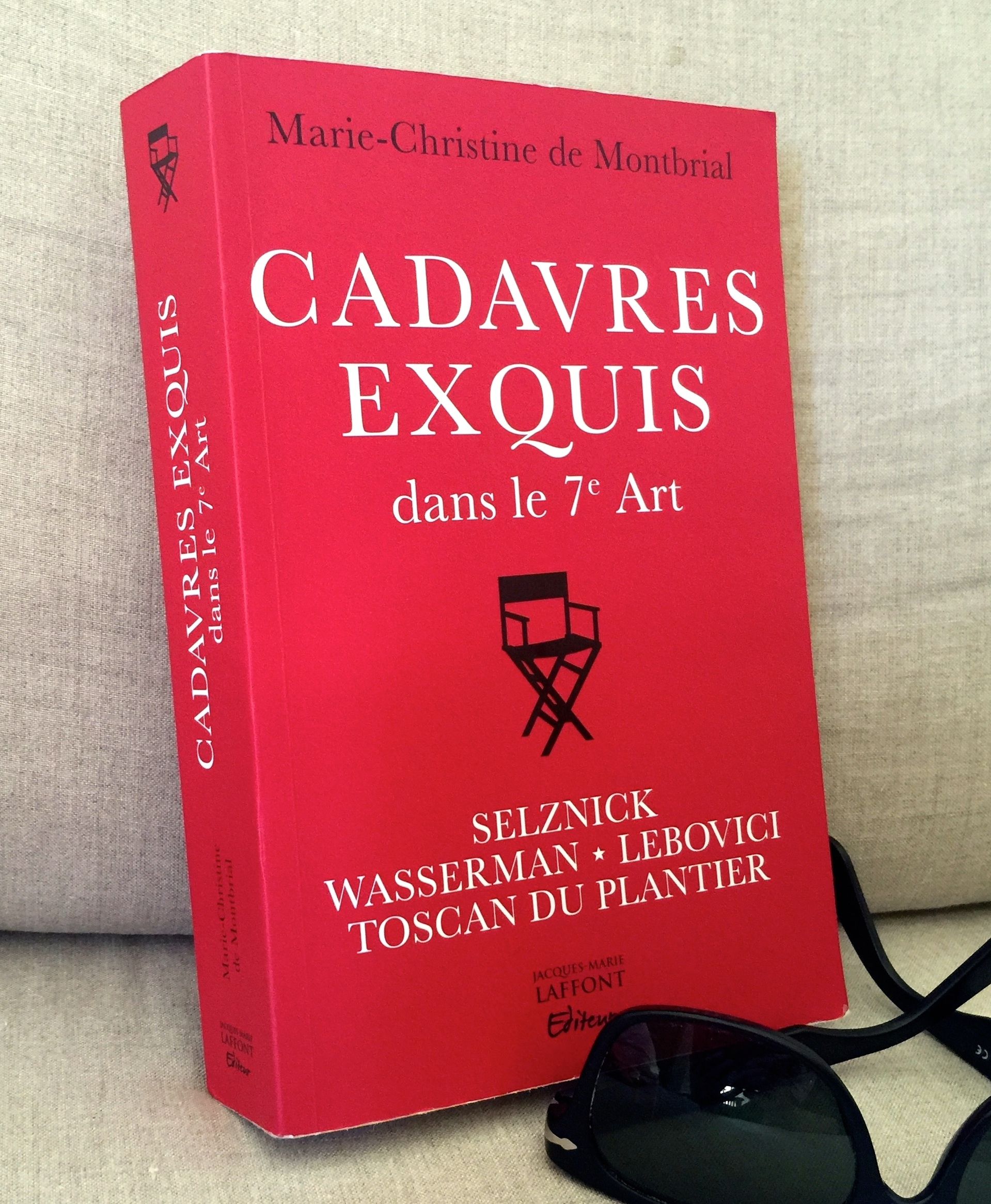 CADAVRES EXQUIS DANS LE 7EME ART - LIVRE