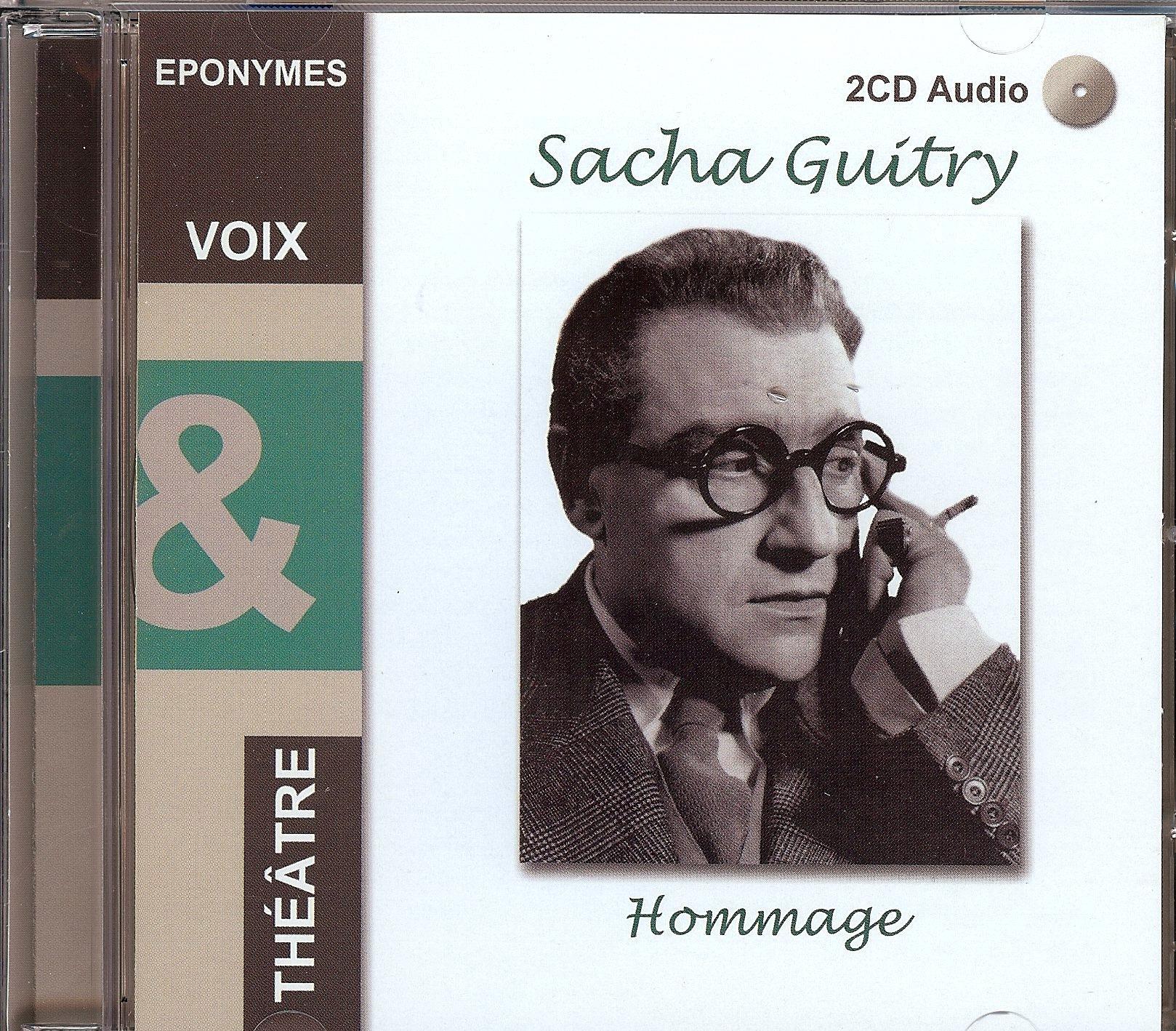 SACHA GUITRY - HOMMAGE