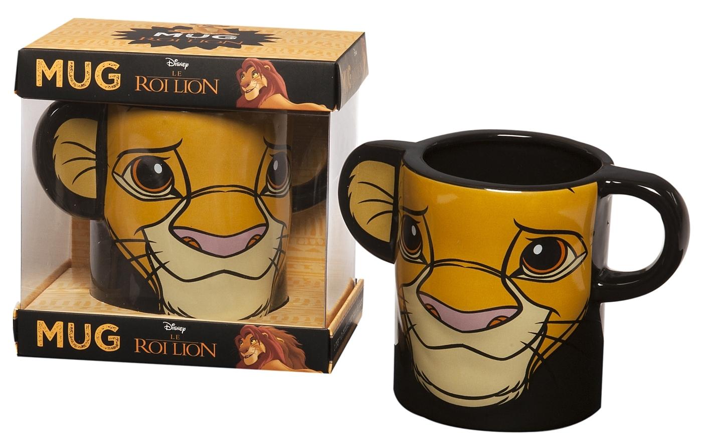COFFRET MUG ROI LION