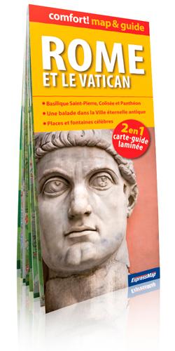 ROME ET LE VATICAN (COMFORT !MAP&GUIDE, CARTE LAMINEE)