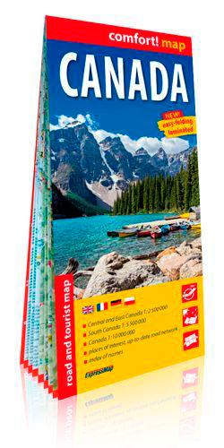 CANADA (ANG) 1/2M500 (CARTE GRAND FORMAT LAMINEE)