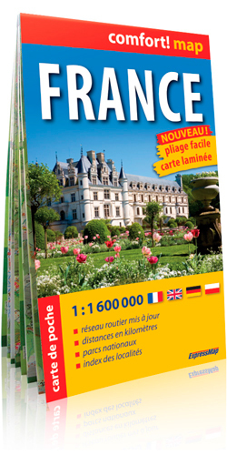 FRANCE  1/1M6 (COMFORT !MAP, POCHE)