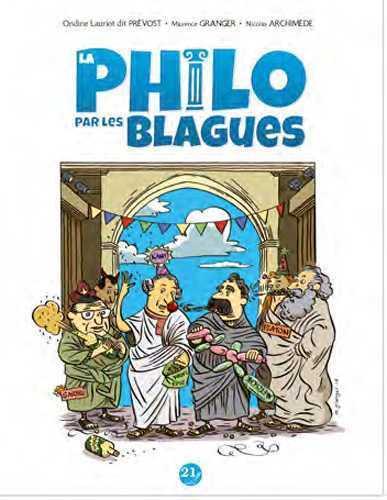 PHILO PAR LES BLAGUES (LA) - JE PENSE DONC JE RIS