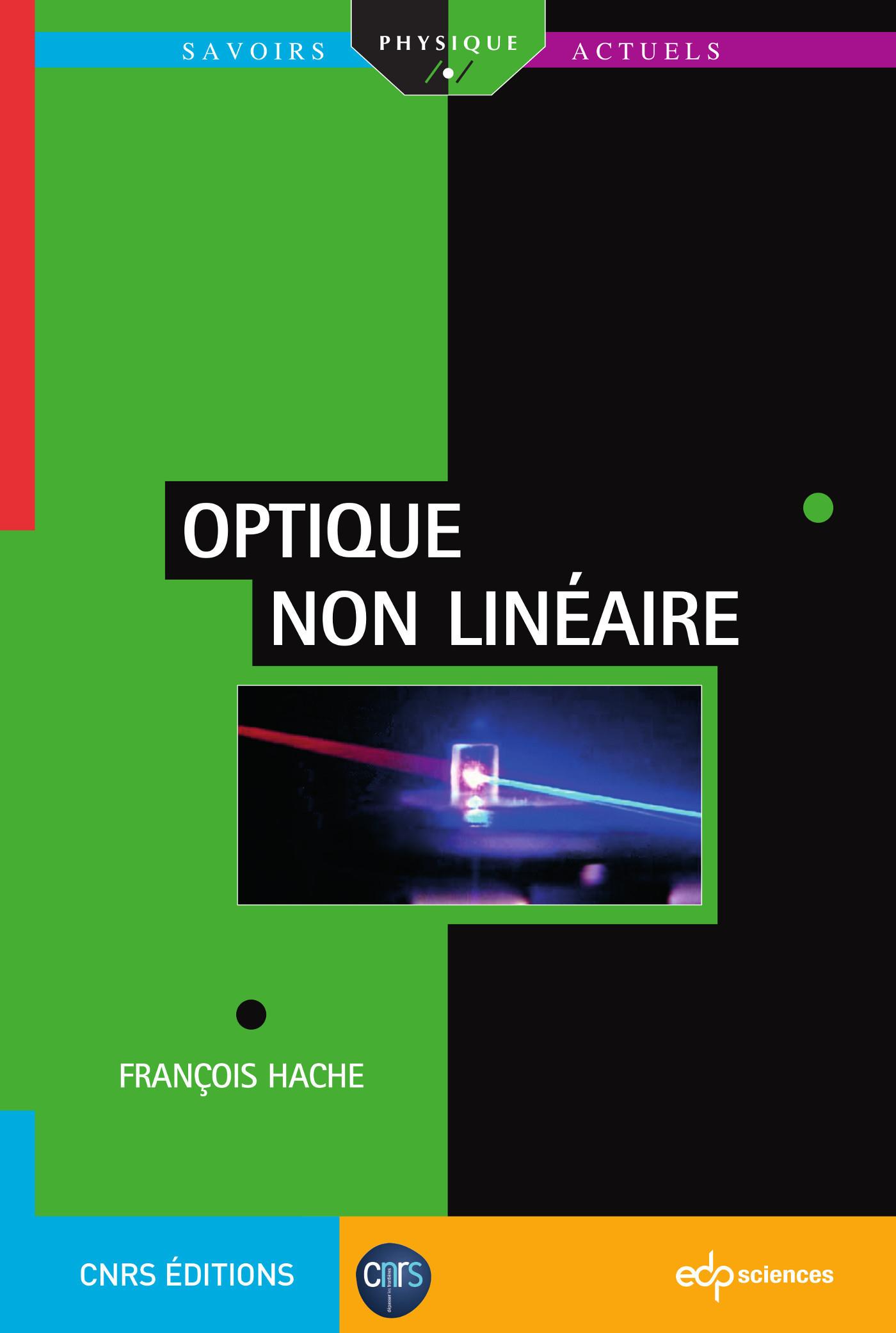OPTIQUE NON LINEAIRE