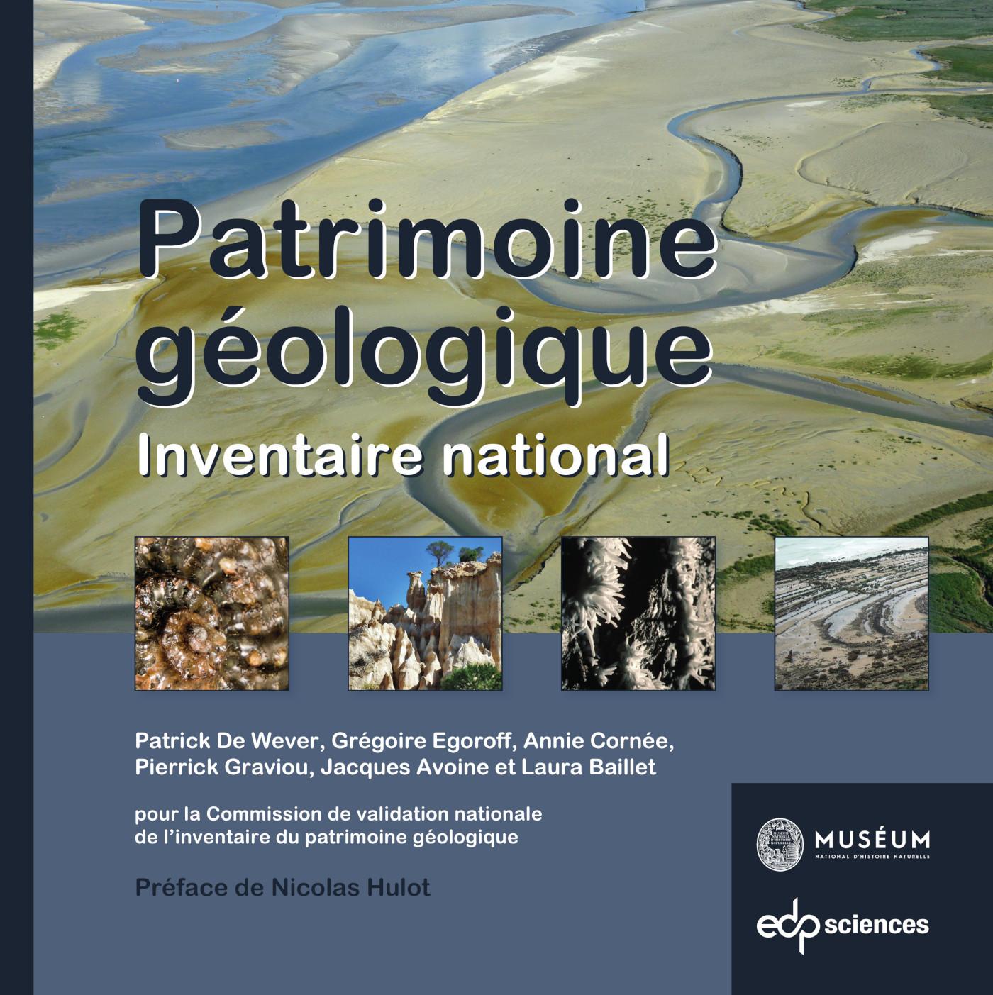 PATRIMOINE GEOLOGIQUE - INVENTAIRE NATIONAL