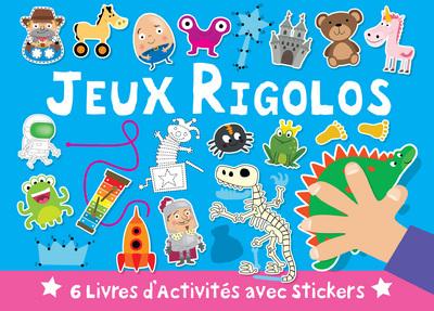 VALISETTE JEUX RIGOLOS 6 LIVRE