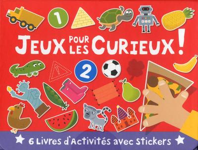 VALISETTE 6 LIVRES - JEUX POUR LES CURIEUX !