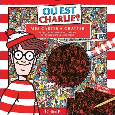 OU EST CHARLIE ? MES CARTES A GRATTER