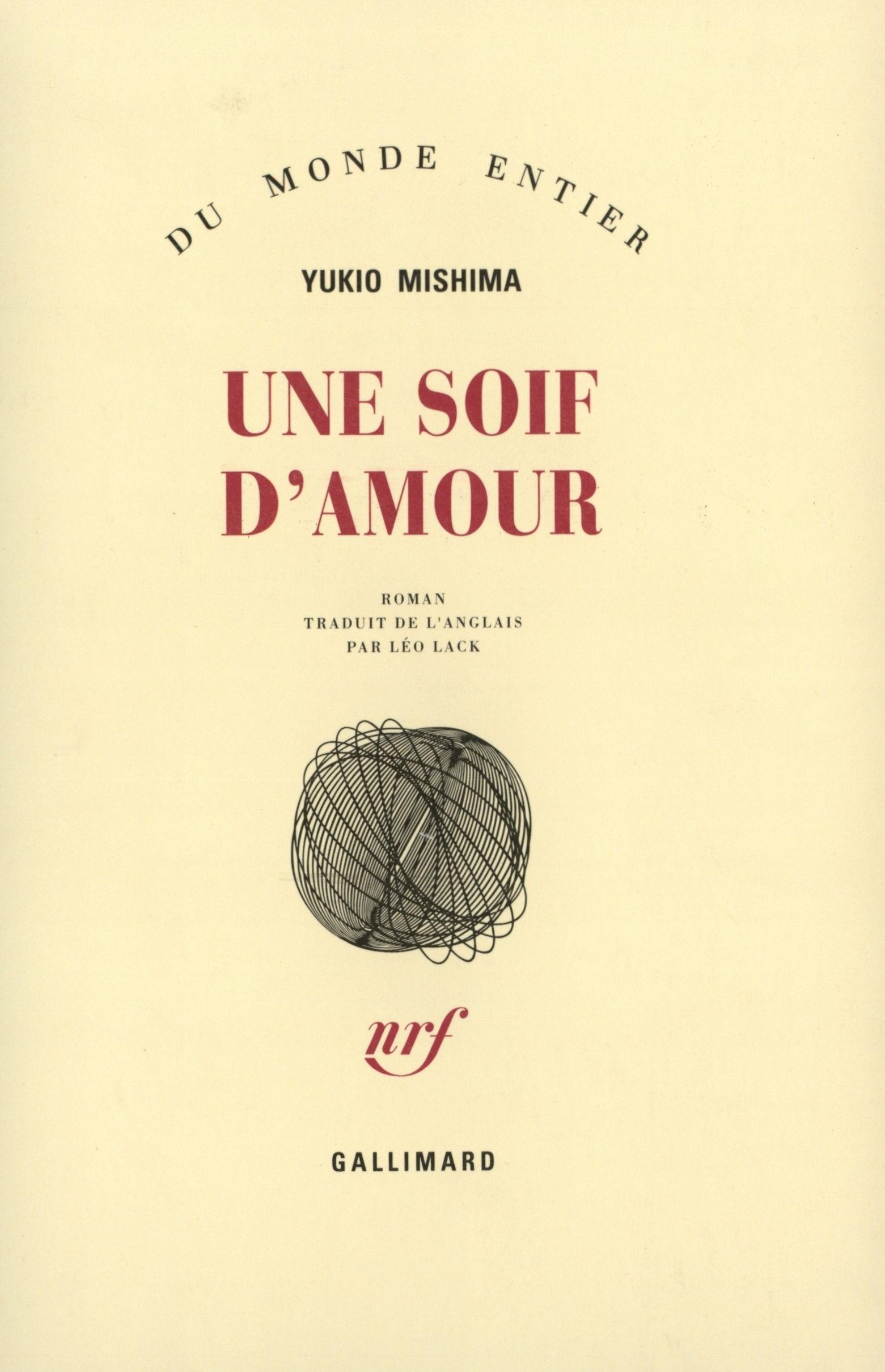 UNE SOIF D'AMOUR