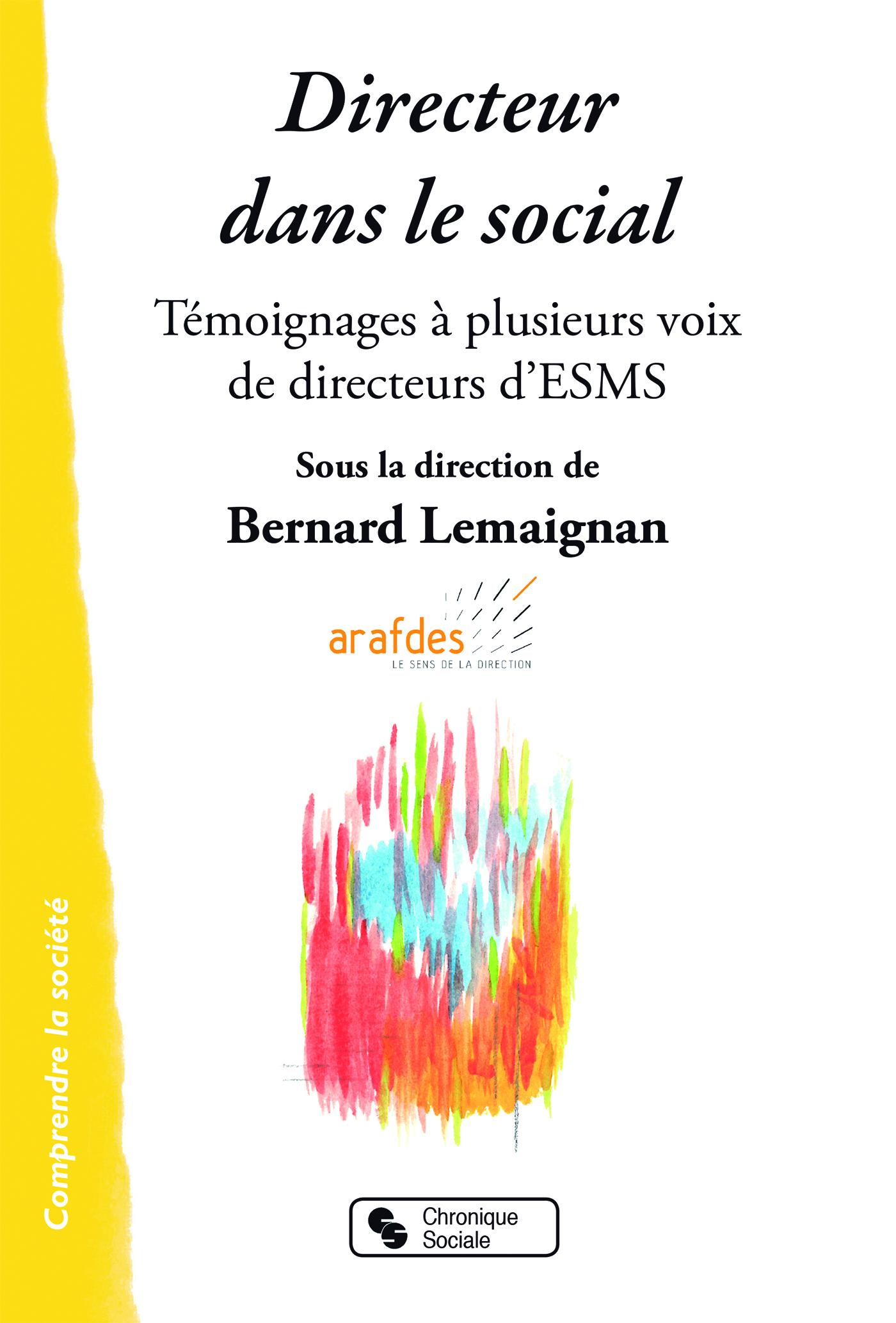 DIRECTEUR DANS LE SOCIAL - TEMOIGNAGES A PLUSIEURS VOIX DE DIRECTEURS D'ESMS