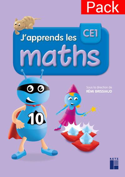 PACK DE 10 FICHIERS J'APPRENDS LES MATHS CE1