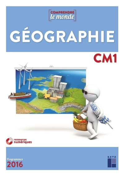 GEOGRAPHIE CM1 NE + EVALUATIONS + + CD-ROM