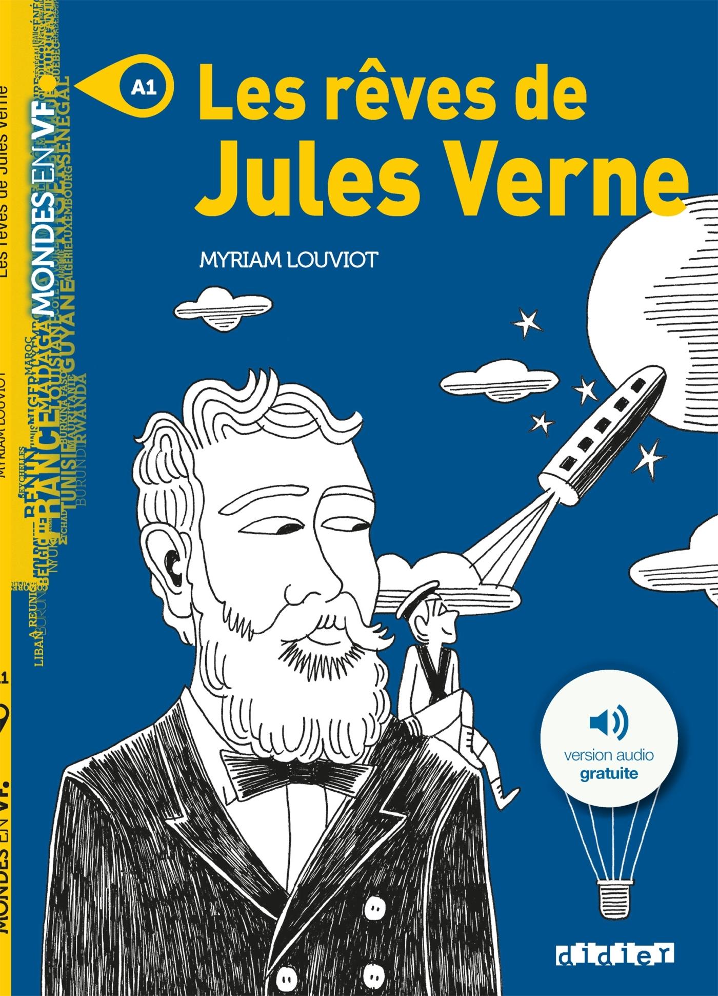 LES REVES DE JULES VERNE - LIVRE