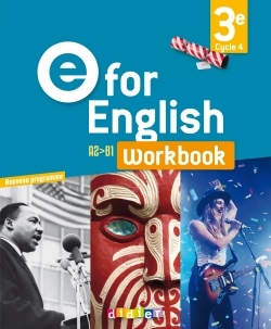 E FOR ENGLISH 3E (ED. 2017) - WORKBOOK - VERSION PAPIER