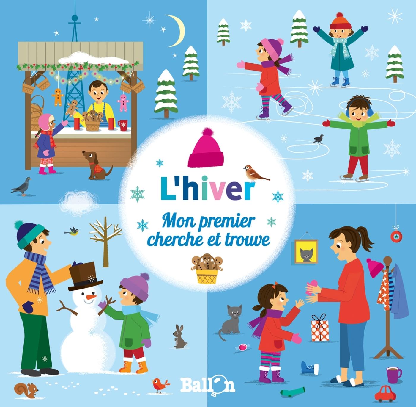 MON PREMIER CHERCHE ET TROUVE : L'HIVER