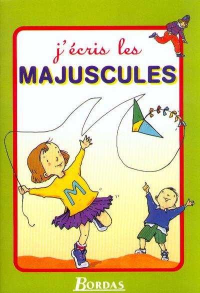 J ECRIS LES MAJUSCULES