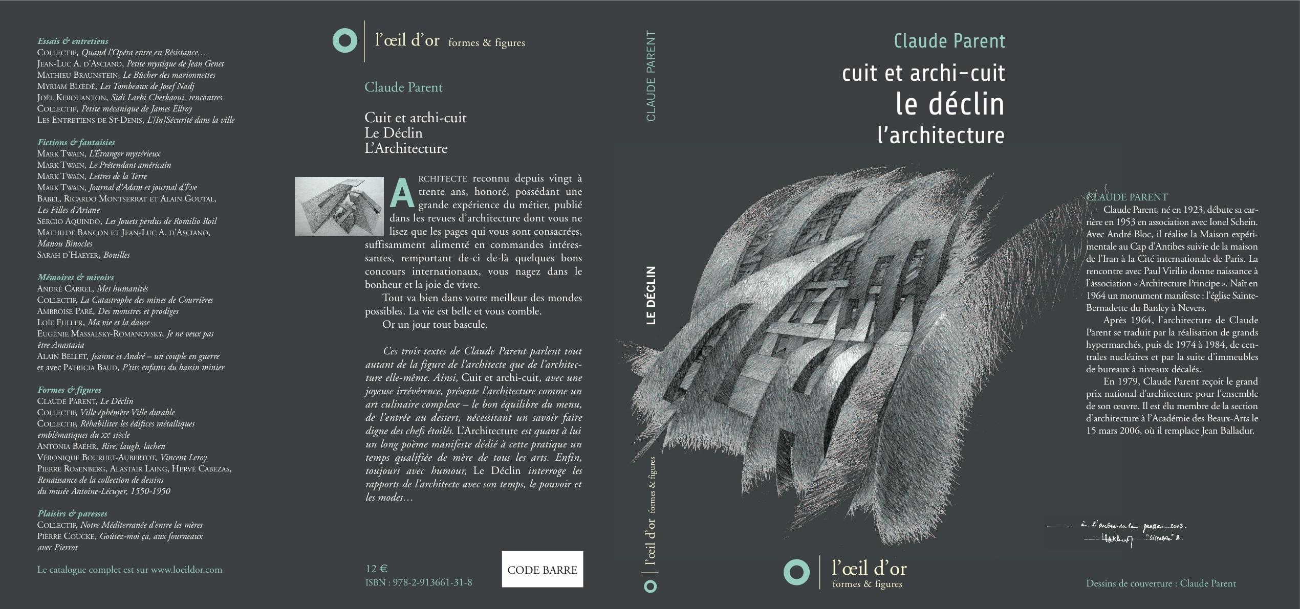 LE DECLIN-CUIT ET ARCHICUIT-L'ARCHITECTURE