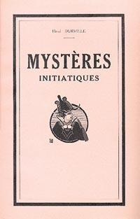 MYSTERES INITIATIQUES