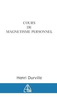 COURS DE MAGNETISME PERSONNEL